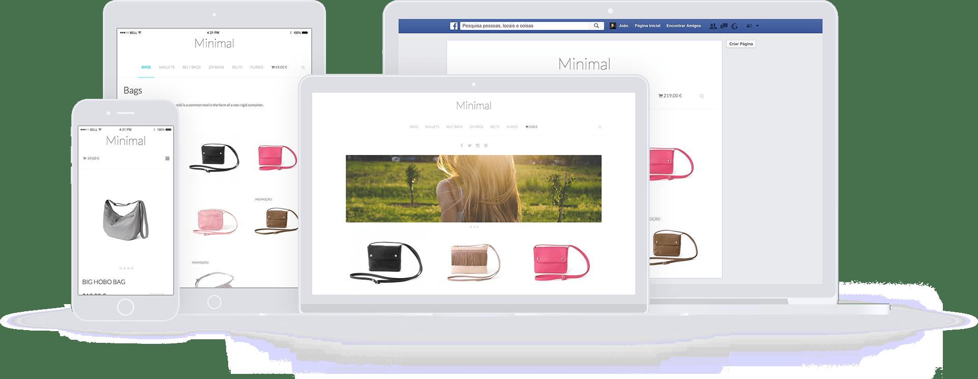 Tipos de loja online