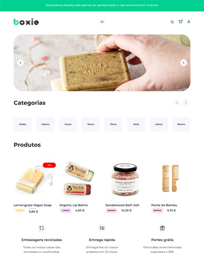 Template Boxie