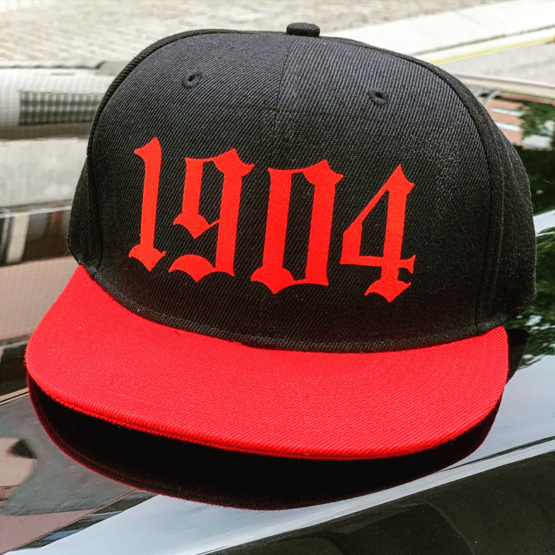 Cap Red and Black  deluxe collection