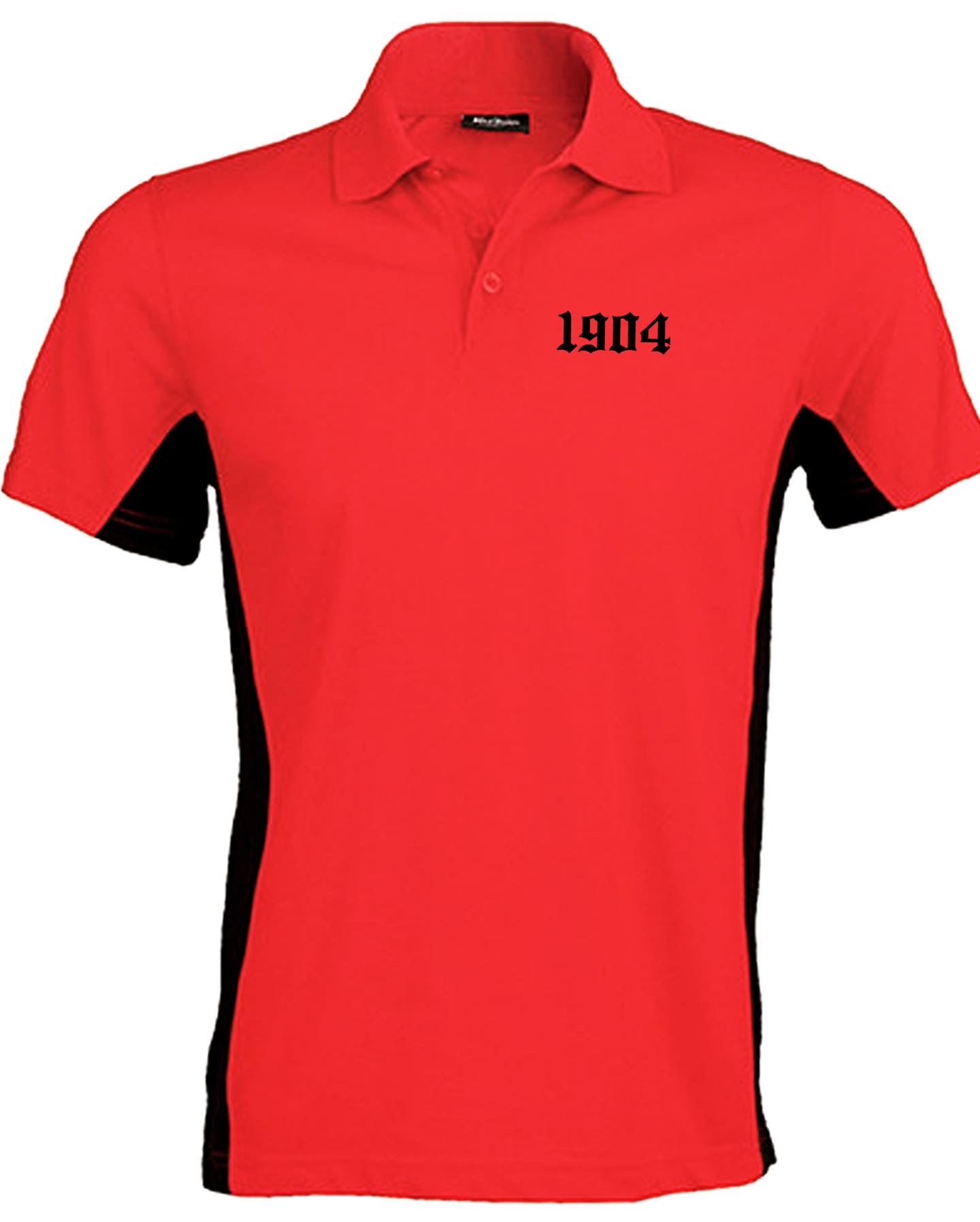 Polo Black and Red Sublime
