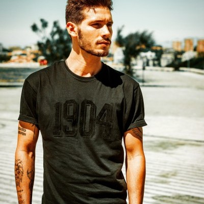 T'shirt 1904 Black deluxe collection
