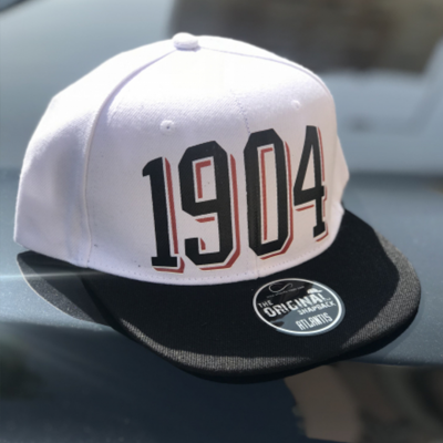 Cap 1904 old school white