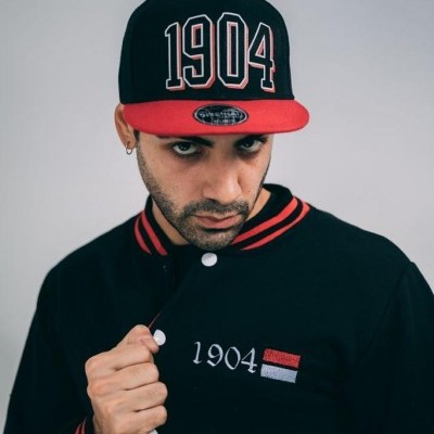 Cap 1904 old school Black and Red