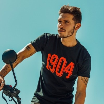 T´shirt 1904 Black and Red deluxe collection