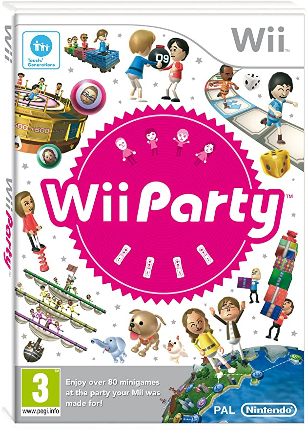 Wii Party [Completo] - WII