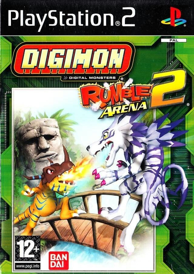 Digimon Rumble Arena 2 [Completo] - PS2