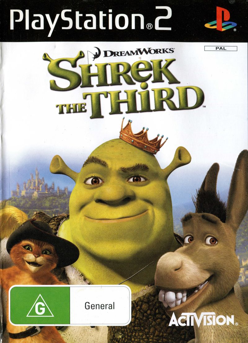 Shrek the Third [Completo] - PS2