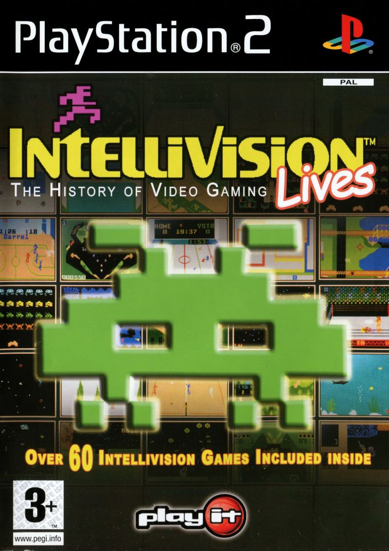 Intellivision Lives [Completo] - PS2
