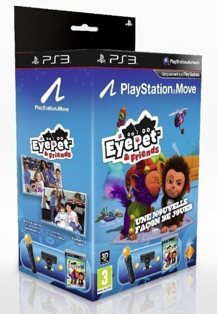 Eyepet & Friends + Move [Completo] - PS3