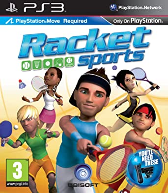 Racket Sports [Completo] - PS3