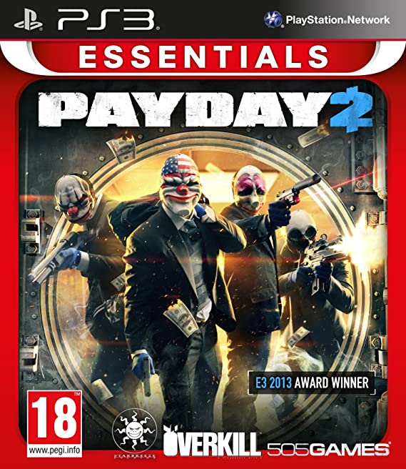 PAYDAY 2 (Platinum) [Completo] - PS3