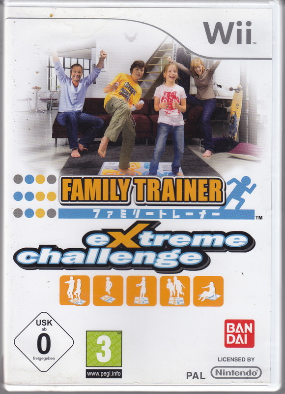 Family Trainer: Extreme Challenge [Completo] - WII