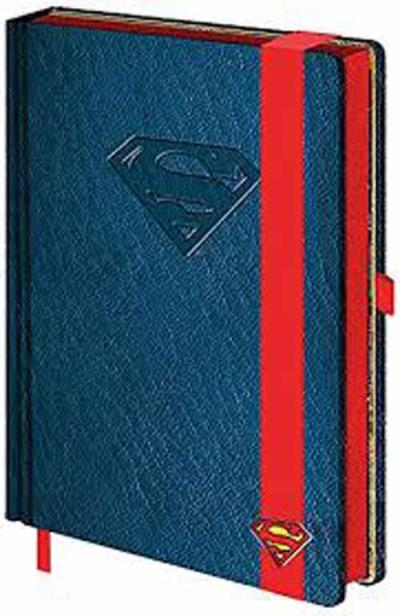 Caderno Superman Marvel