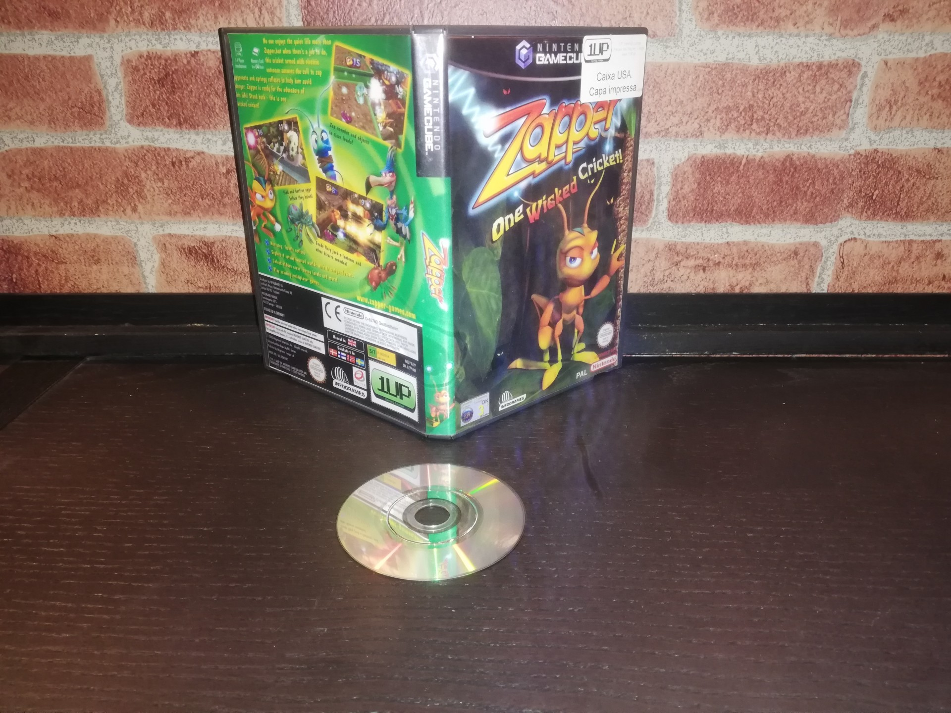 Zapper: One Wicked Cricket! [Sem Manual] - NGC