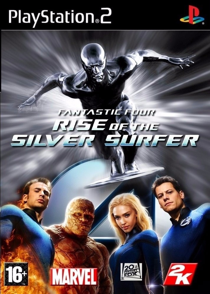 Fantastic Four: Rise of the Silver Surfer [Completo] - PS2