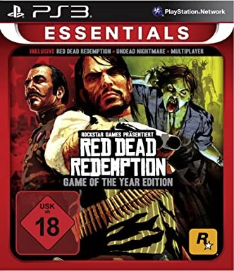 Red Dead Redemption: Game of the Year Edition (Platinum) [Completo] - PS3