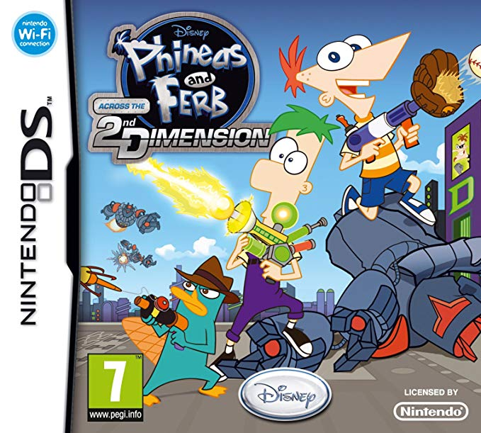 Phineas and Ferb: Across the 2nd Dimension [Completo] - NDS