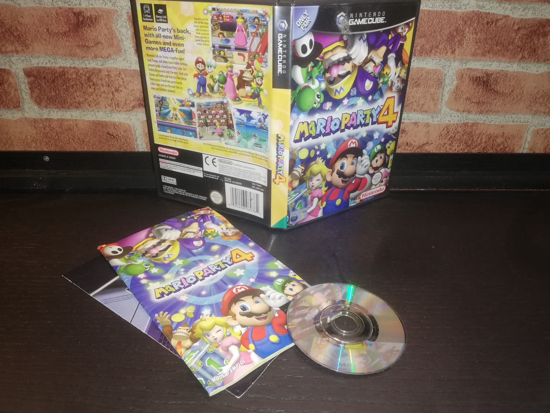 Mario Party 4 [Completo] - NGC