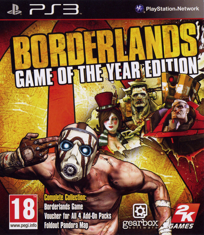 Borderlands: Game of the Year Edition [Completo] - PS3