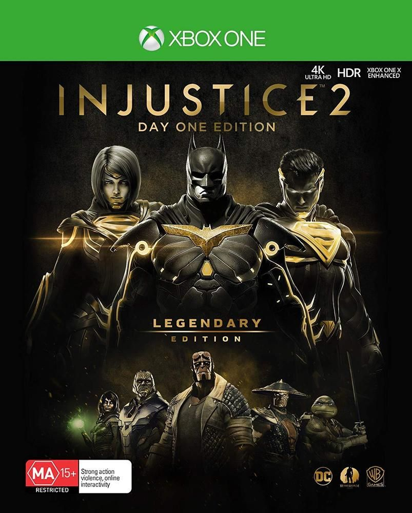 Injustice 2: Legendary Edition [Completo] - XBO