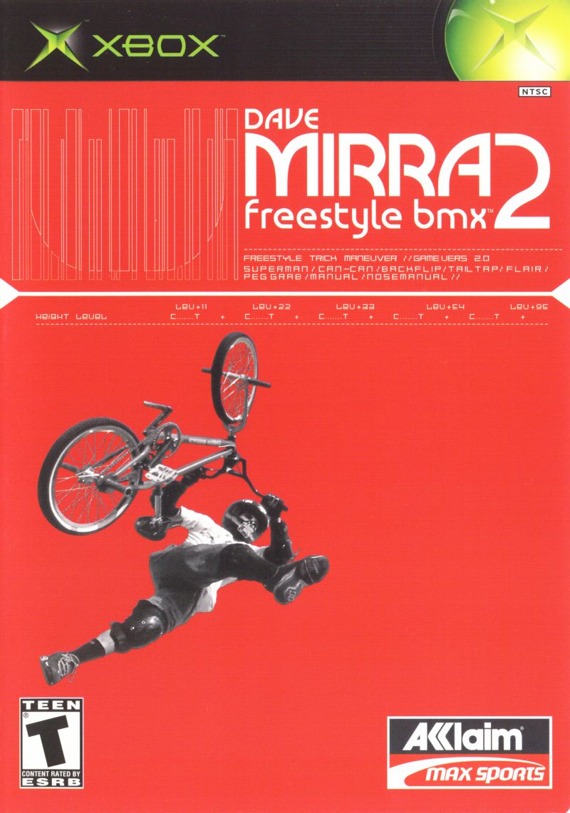Dave Mirra Freestyle BMX 2 [Sem Manual] - XBX