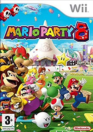 Mario Party 8 (Selects) [Completo] - WII