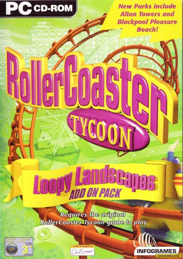 Roller Coaster Tycoon: Loopy Landscapes Expansion Pack [Completo] - WIN
