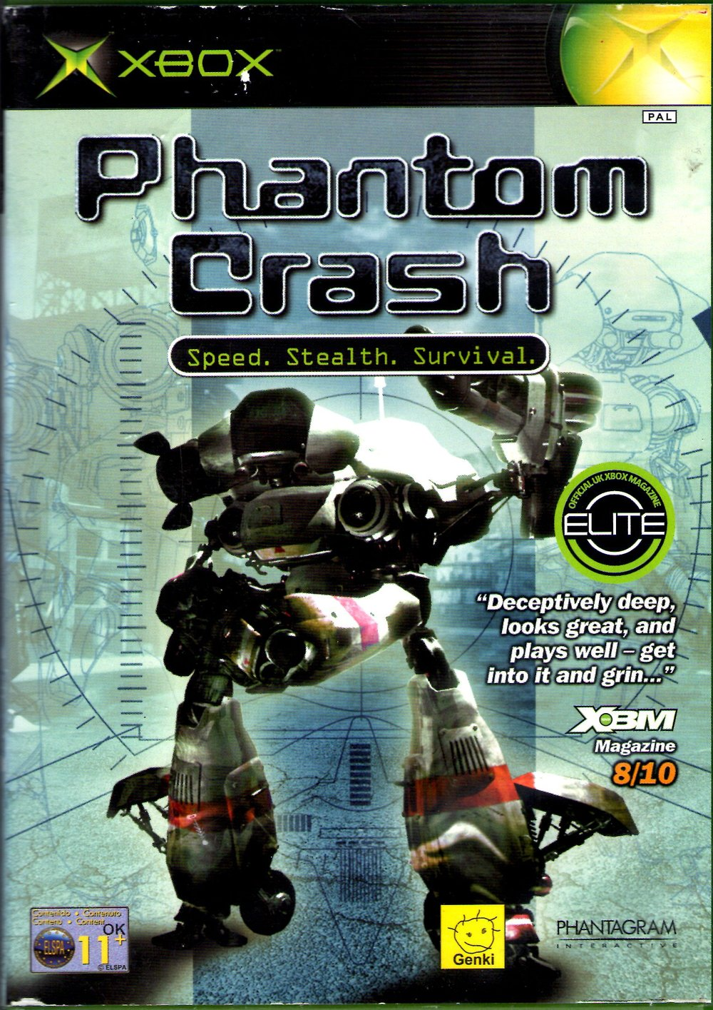 Phantom Crash [Completo] - XBX