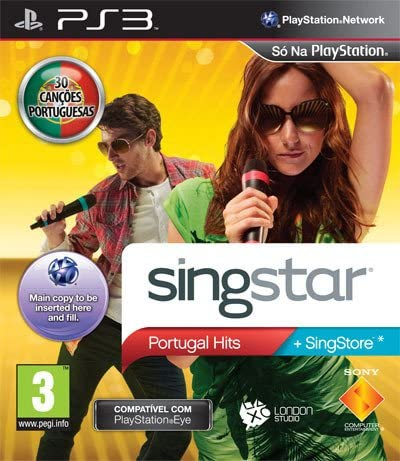 SingStar Portugal Hits [Completo] - PS3