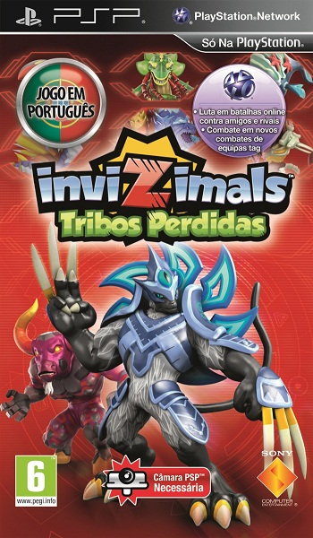 InviZimals: The Lost Tribes [Completo] - PSP