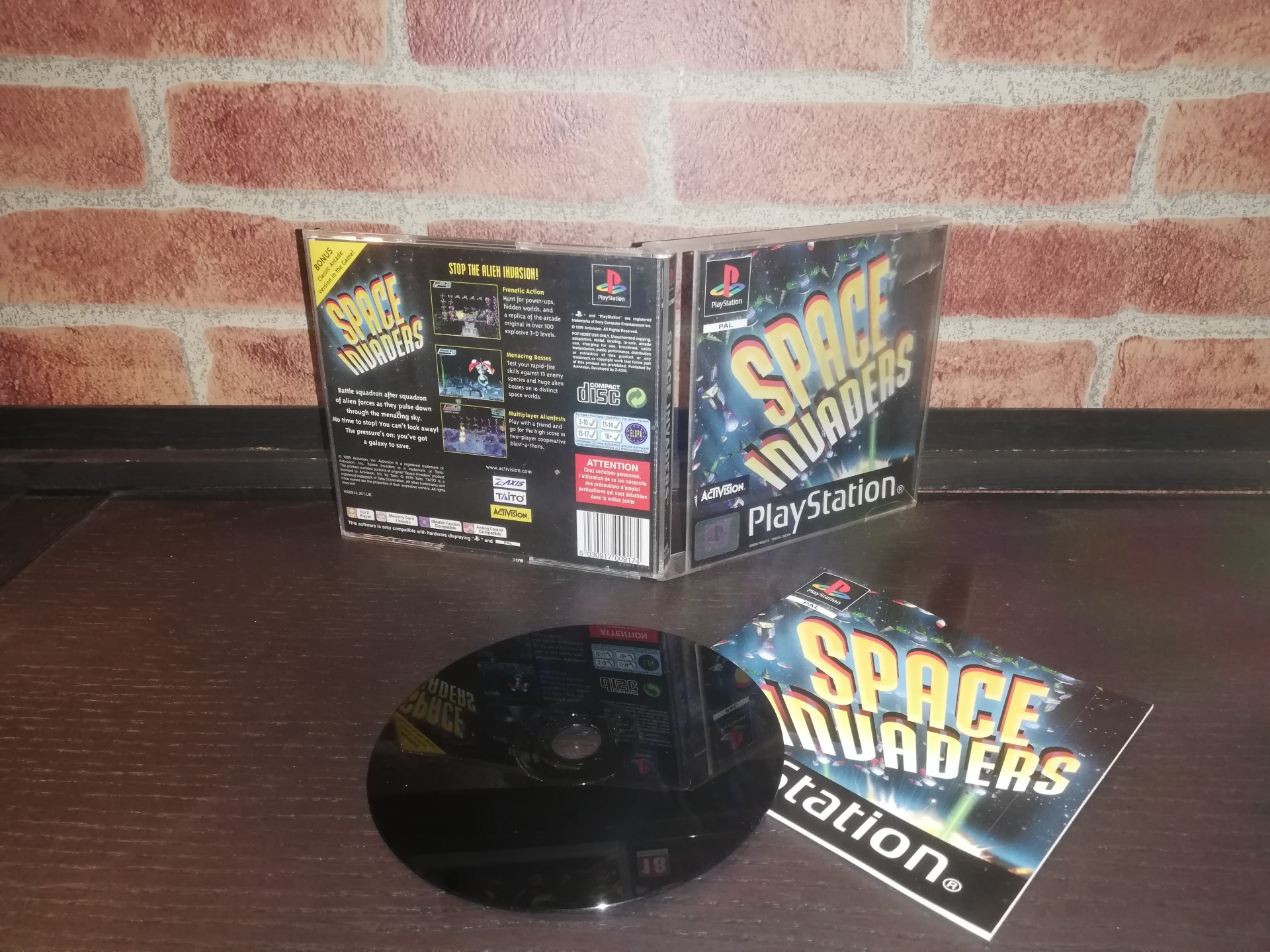 Space Invaders [Completo] - PS1