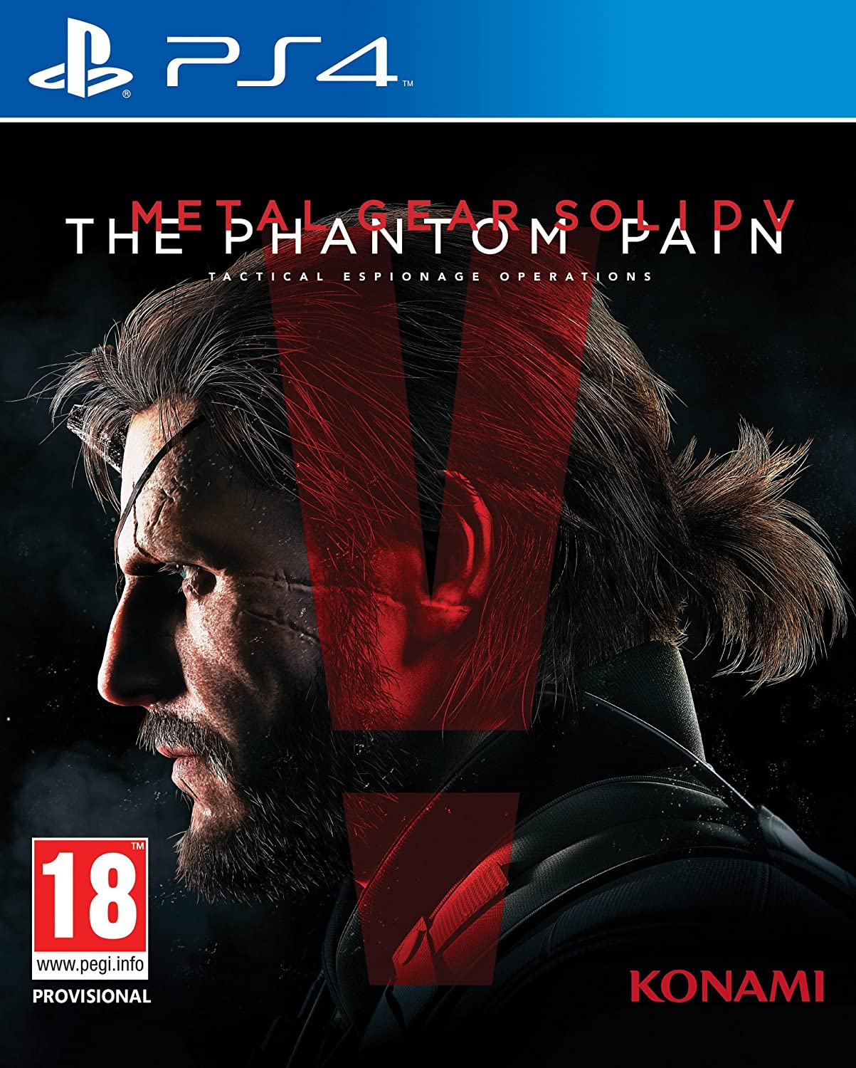 Metal Gear Solid V: Phantom Pain [Sem Manual] - PS4