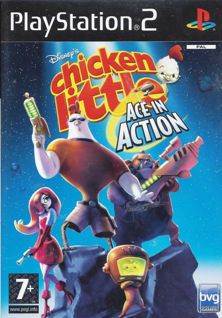 Chicken Little (Disney's): Ace in Action [Completo] - PS2