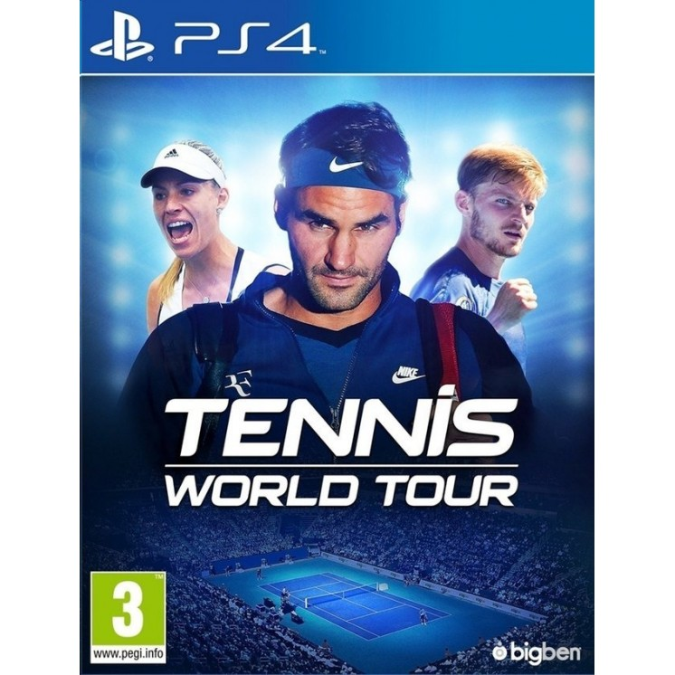 Tennis World Tour [Completo] - PS4