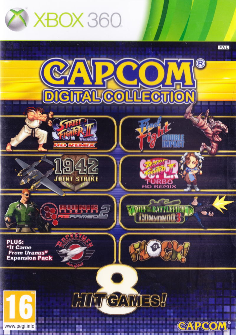 Capcom Digital Collection [Completo] - X360