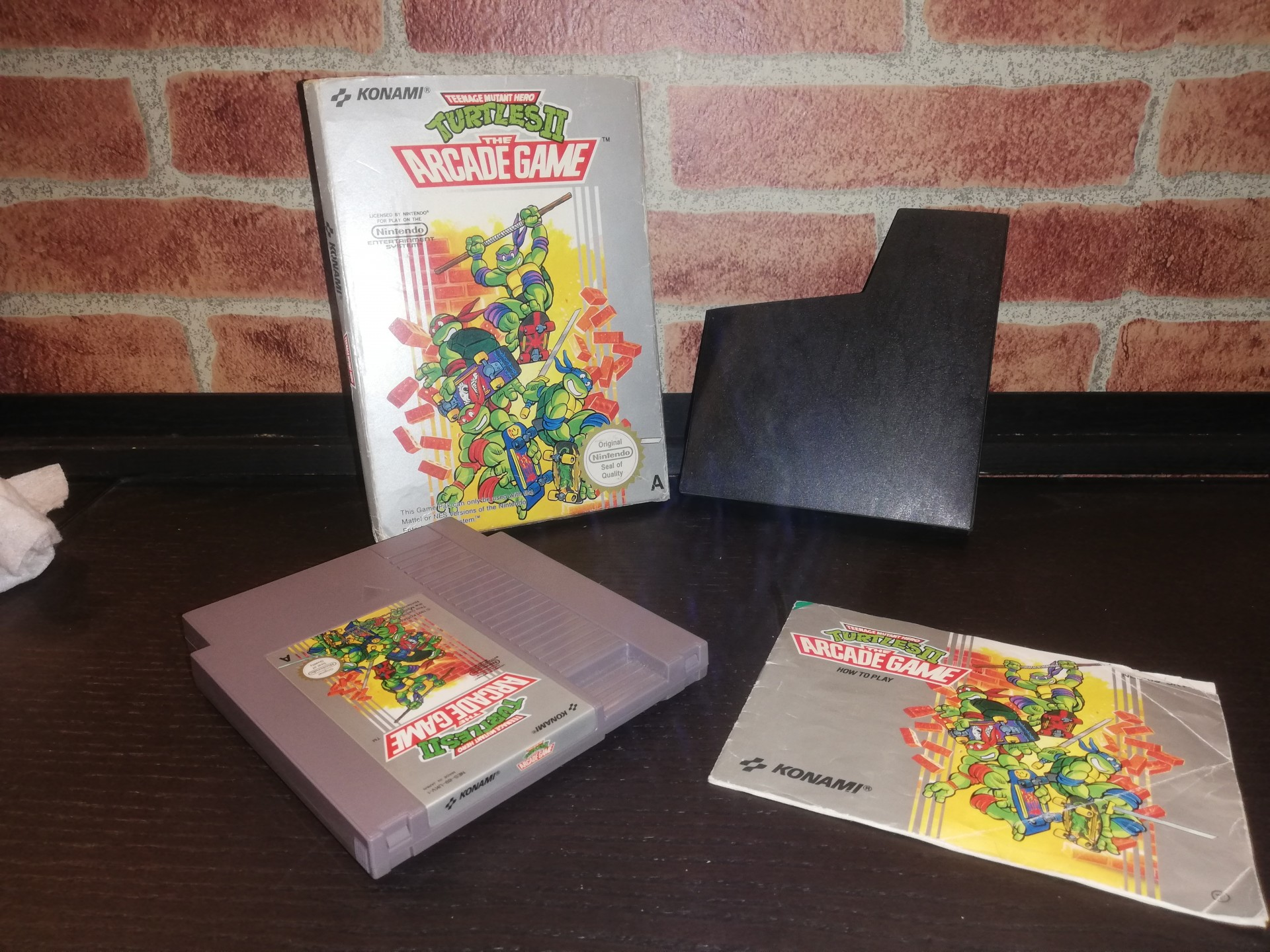 Teenage Mutant Hero Turtles II: The Arcade Game [Completo] - NES