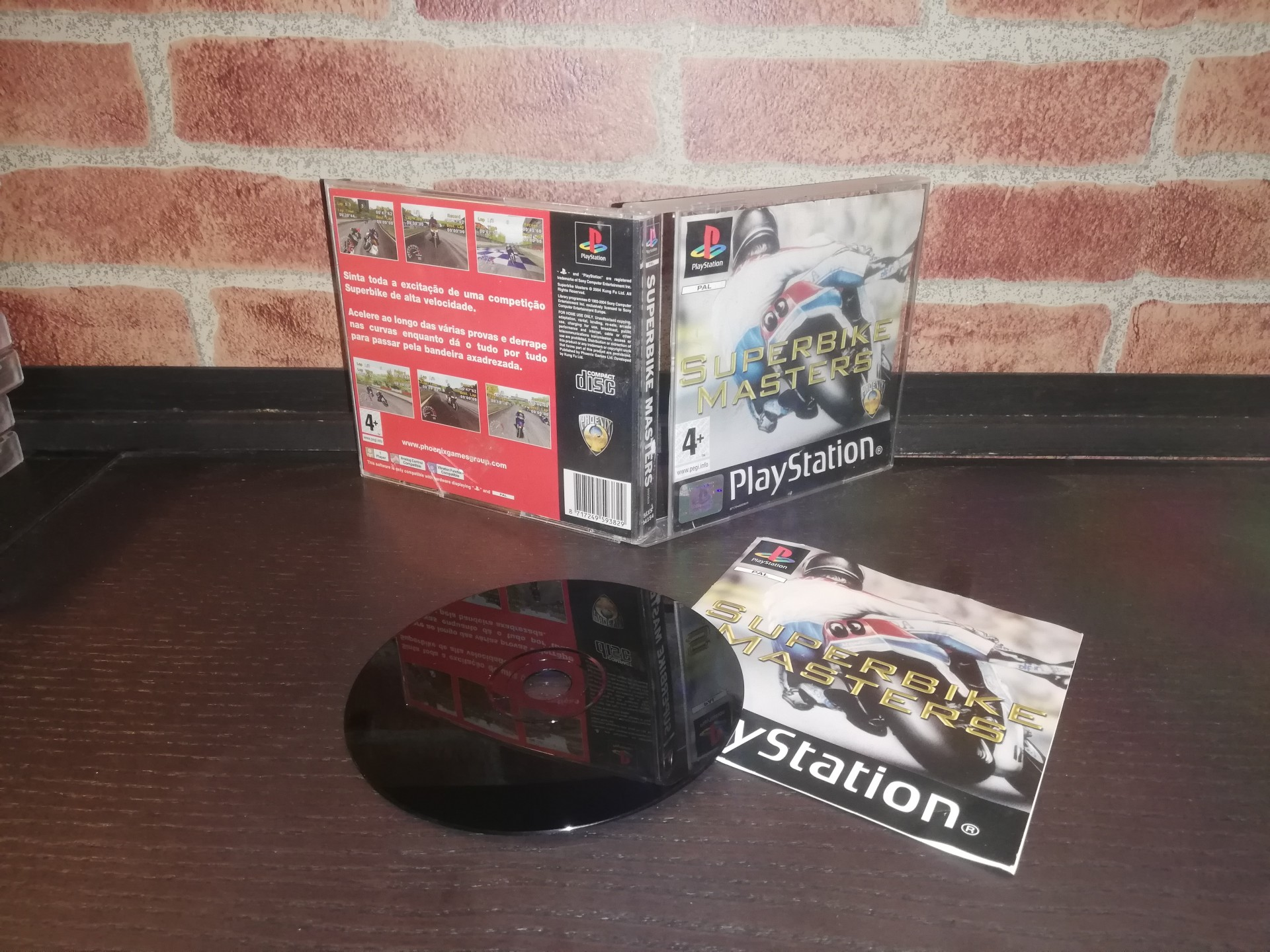 Superbike Masters [Completo] - PS1