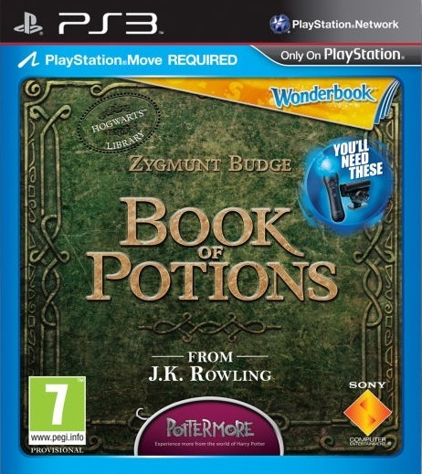 Wonderbook: Book of Potions [Promo Copy] - PS3