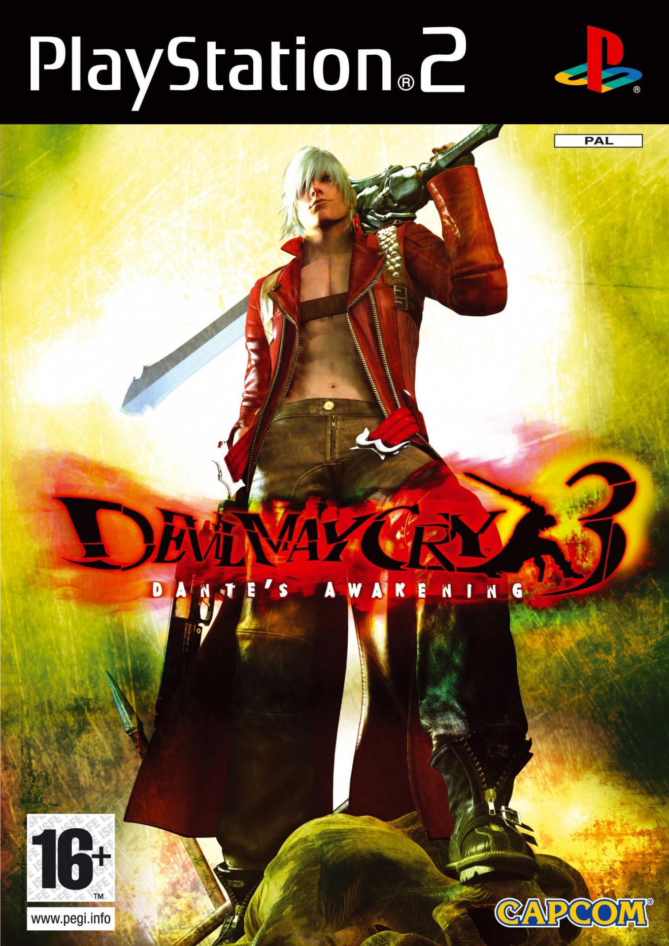 Devil May Cry 3: Dante's Awakening [Completo] - PS2