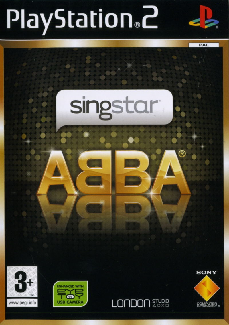 SingStar ABBA [Completo] - PS2