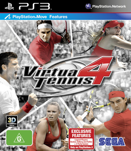 Virtua Tennis 4 [Completo] - PS3