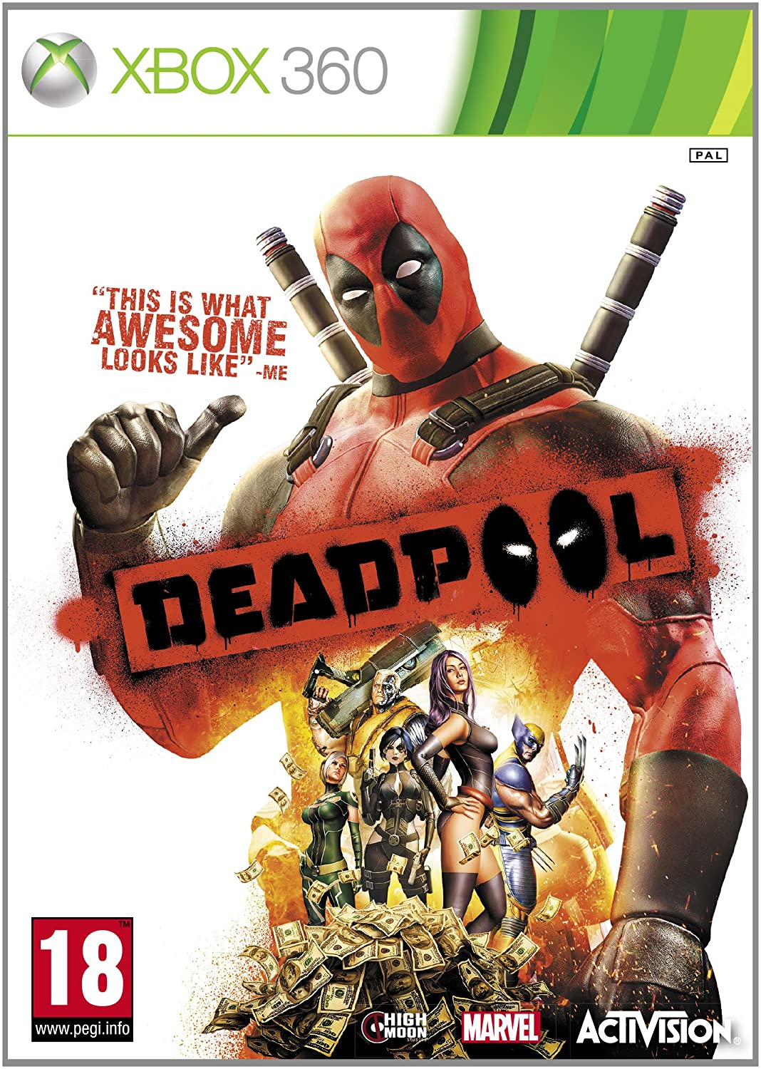 Deadpool [Sem Manual] - X360