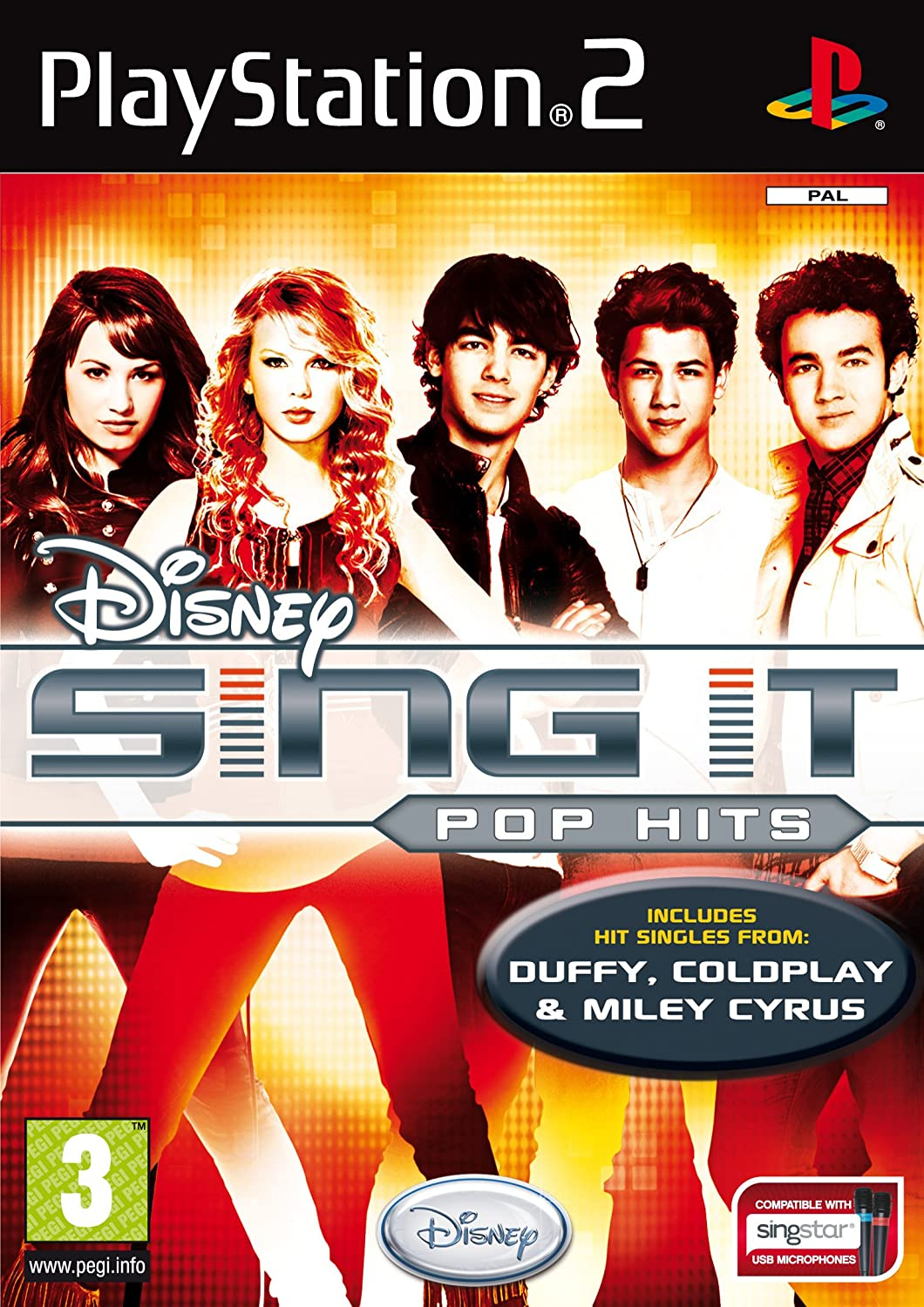 Sing It: Pop Hits [Completo] - PS2