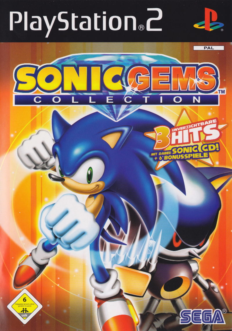 Sonic Gems Collection [Sem Manual] - PS2