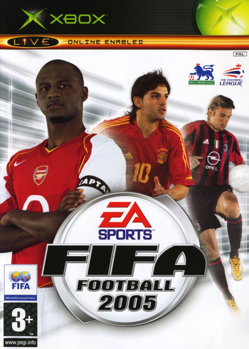 FIFA Football 2005 [Sem Manual] - XBX