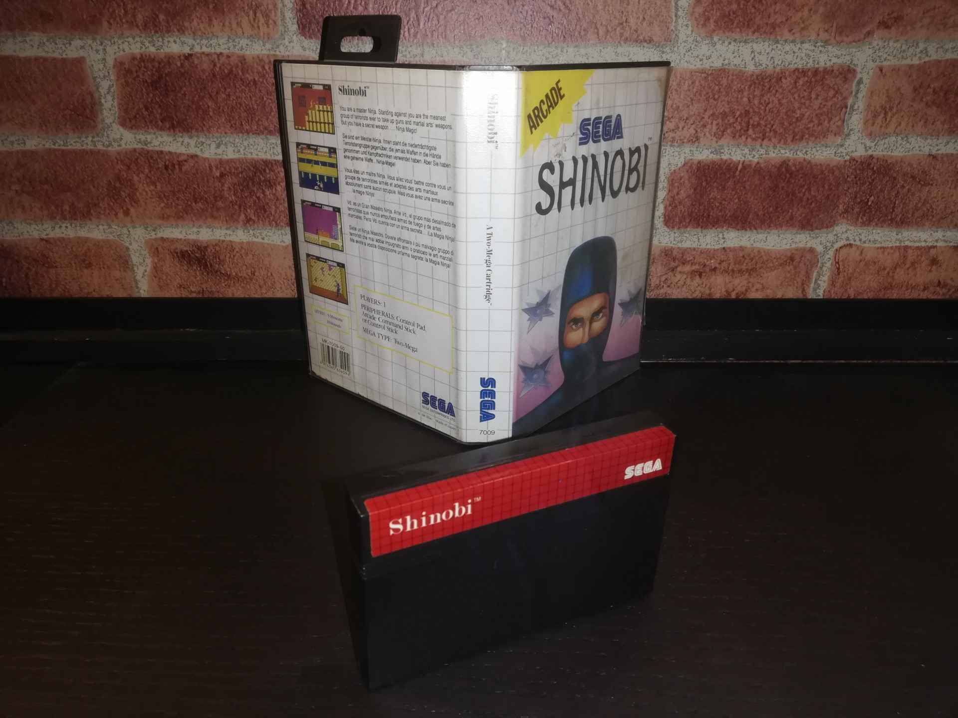 Shinobi [Sem Manual] - SMS