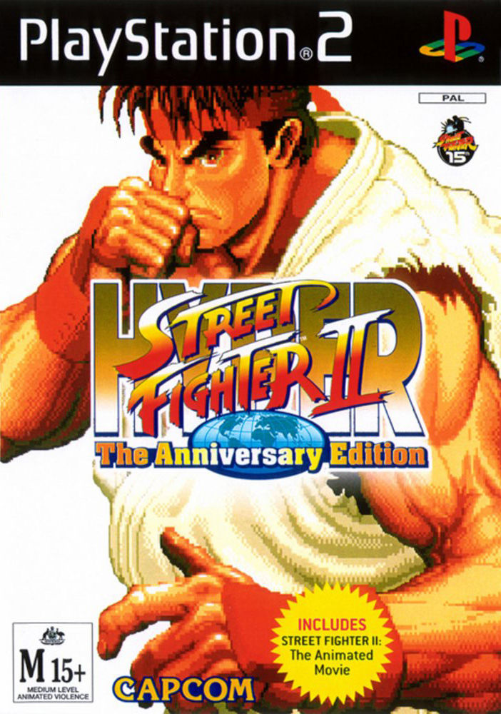 Hyper Street Fighter II: The Anniversary Edition [Completo] - PS2