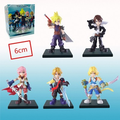 Final Fantasy Mini Figuras