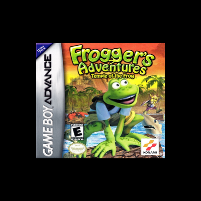 Frogger's Adventures: Temple of the Frog [Cartucho] - GBA