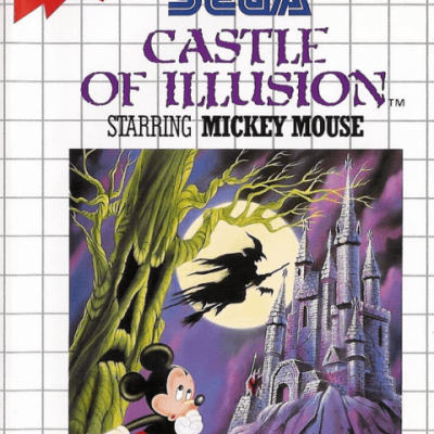 Castle of Illusion starring Mickey Mouse [Sem Manual] - SMS